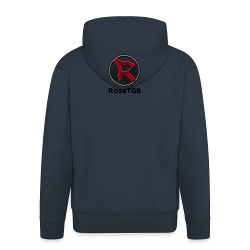 RossTGB LOGO - Men's Premium Hooded Jacket