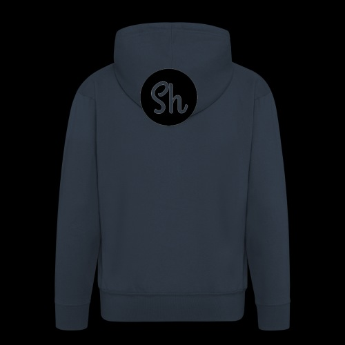 LOGO 2 - Men's Premium Hooded Jacket