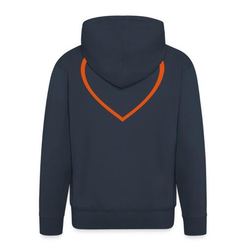 Hjärta 4 - Premium-Luvjacka herr