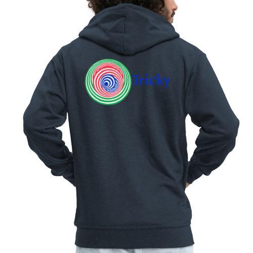 Tricky - Men's Premium Hooded Jacket