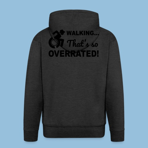 Walkingoverrated2 - Mannenjack Premium met capuchon