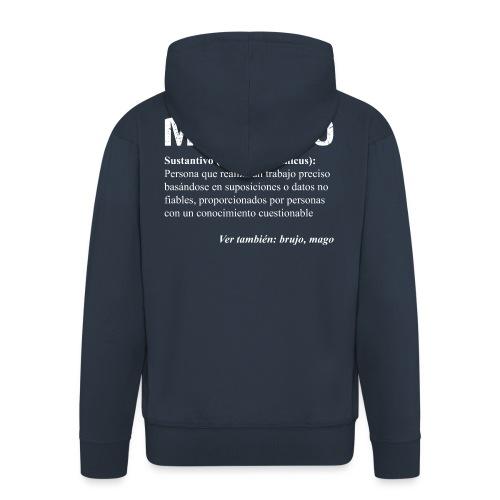¿Mecánico = Mago? - Chaqueta con capucha premium hombre