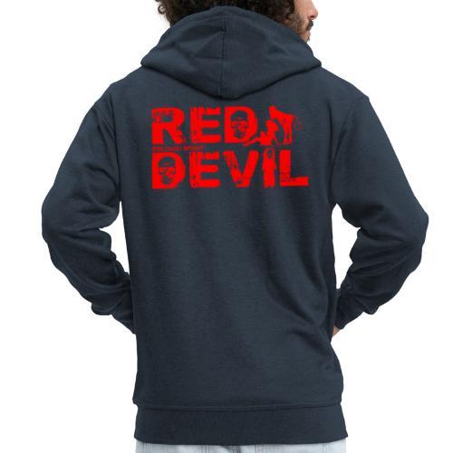 BELGIAN-RED-DEVIL - Veste à capuche Premium Homme