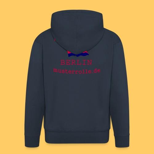 KiB-Logo-gif - Männer Premium Kapuzenjacke