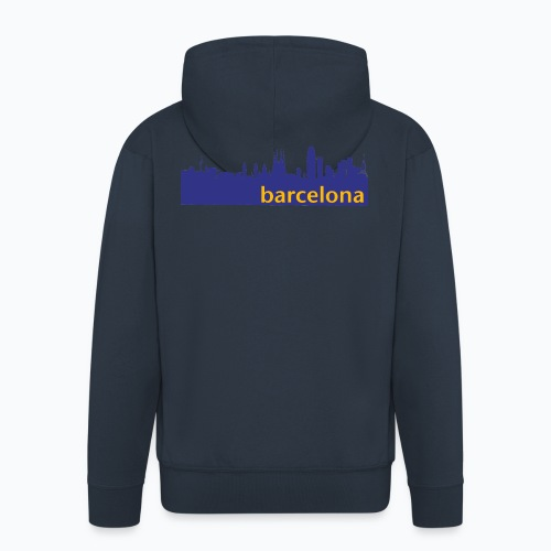 camisa con perfil de Barcelona - Chaqueta con capucha premium hombre