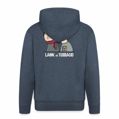 Laink et Terracid - Veste à capuche Premium Homme