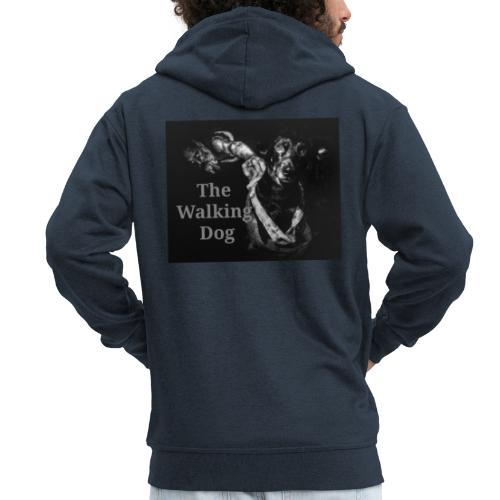 The Walking Dog - Männer Premium Kapuzenjacke