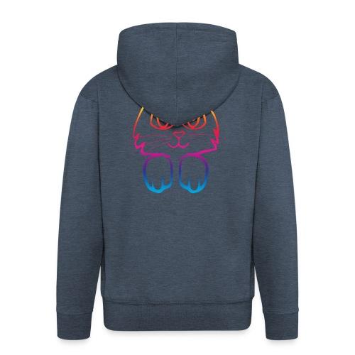 rainbow_pussy - Men's Premium Hooded Jacket