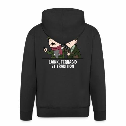 Laink, Terracid et Tradition - Veste à capuche Premium Homme