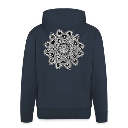 Lisaty Mandala - Men's Premium Hooded Jacket