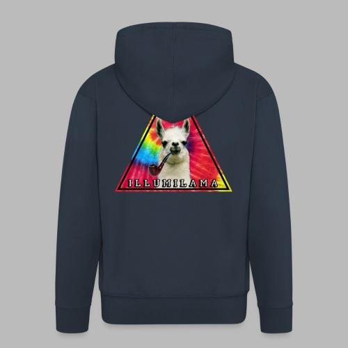 Illumilama logo T-shirt - Men's Premium Hooded Jacket
