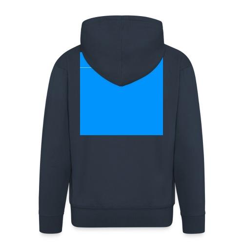 sklyline blue version - Veste à capuche Premium Homme