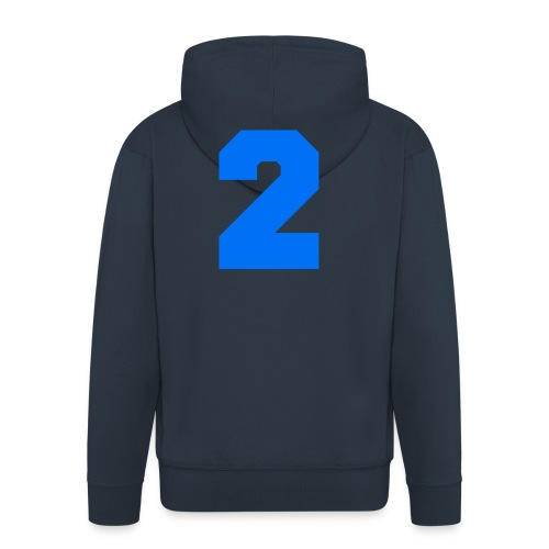 #2 HOODIE - Men's Premium Hooded Jacket
