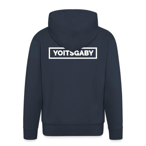 YoIsGaby T-Shirt Wit // man - Mannenjack Premium met capuchon