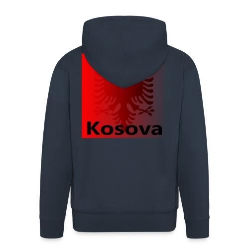 Kosova Shqiptar Albaner Kosovo Albanien Shqipëri - Männer Premium Kapuzenjacke