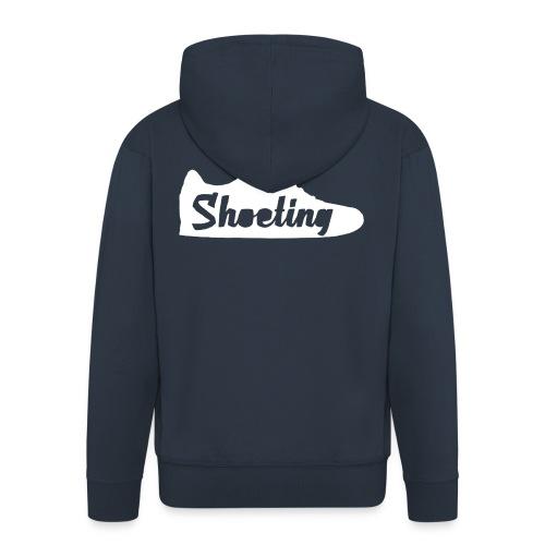 Shoeting Hoodie - Männer Premium Kapuzenjacke