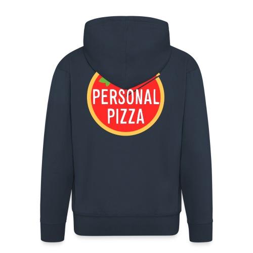 maglietta_alsina_noshadow_textshadow - Felpa con zip Premium da uomo