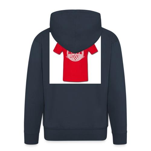 Herre-T-shirt - Herre premium hættejakke