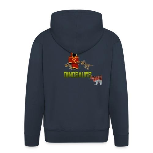 Minecraft Dinosaurs T-shirt - Mannenjack Premium met capuchon