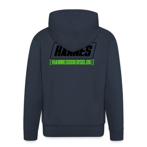 Hannes Logo - Männer Premium Kapuzenjacke