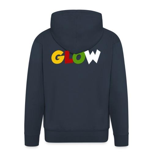 Minecraft - Glow - Männer Premium Kapuzenjacke