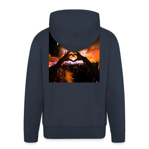 FE3LiX Logo. . g - Männer Premium Kapuzenjacke
