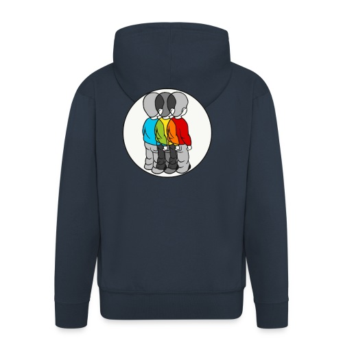 Roygbiv - Men's Premium Hooded Jacket