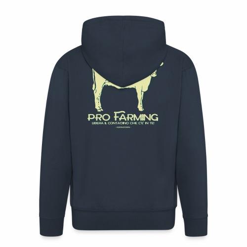 PRO Farming - Felpa con zip Premium da uomo