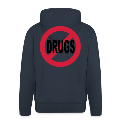 No to drugs - Men's Premium Hooded Jacket