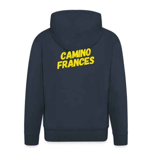 Camino Frances - Männer Premium Kapuzenjacke