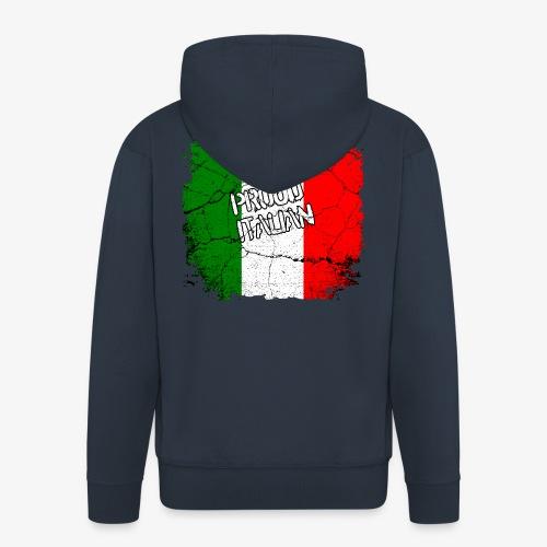 Proud Italian Stolzer Italiener Italienerin - Männer Premium Kapuzenjacke