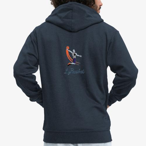 lybasket - Veste à capuche Premium Homme