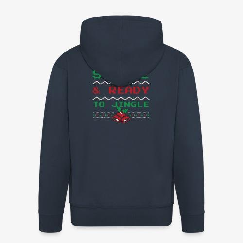 Single Ready To Jingle - Men's Premium Hooded Jacket