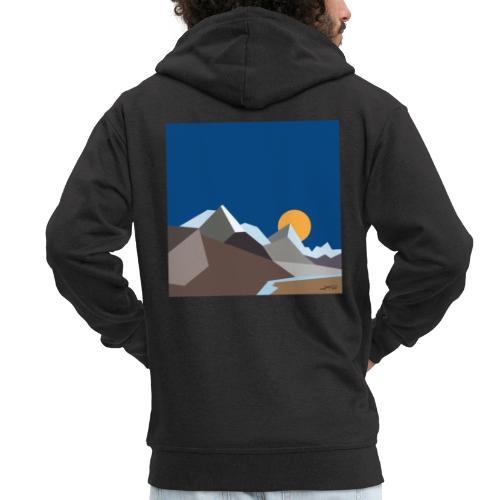 Himalayas - Men's Premium Hooded Jacket