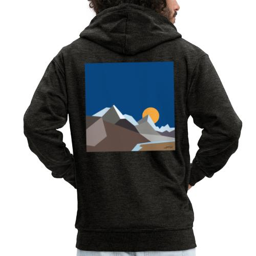Himalayas - Men's Premium Hooded Jacket