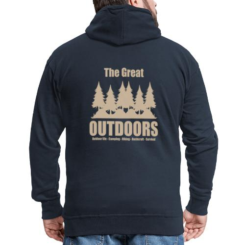 The great outdoors - Clothes for outdoor life - Men's Premium Hooded Jacket