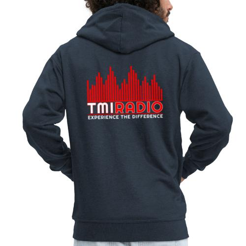 NEW TMI LOGO RED AND WHITE 2000 - Men's Premium Hooded Jacket