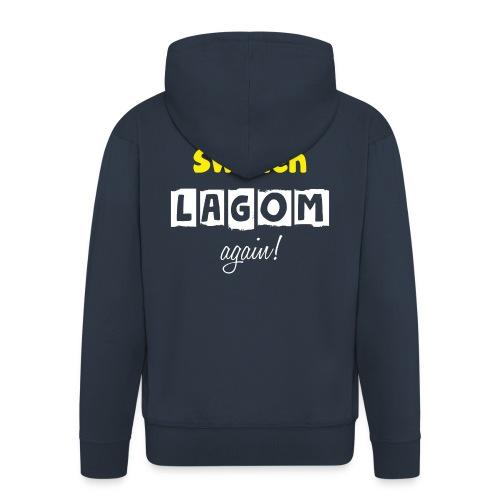 Make Sweden LAGOM again! - Premium-Luvjacka herr