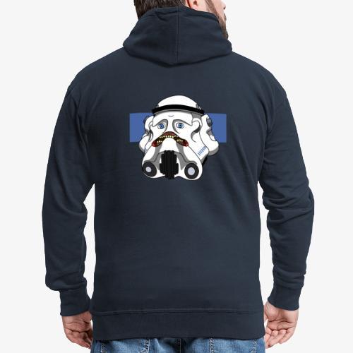 The Look of Concern - Men's Premium Hooded Jacket