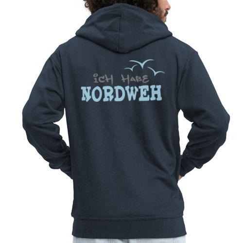 Ich habe Nordweh - Männer Premium Kapuzenjacke