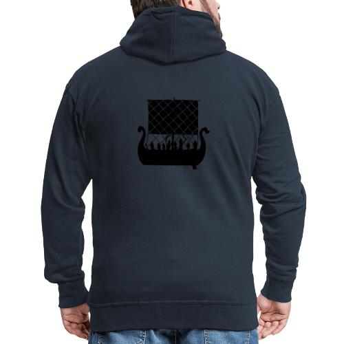 LongShip - Vikings - Veste à capuche Premium Homme
