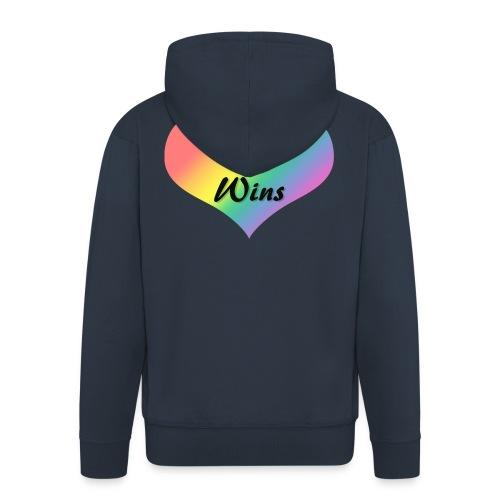 Love Wins - Men's Premium Hooded Jacket