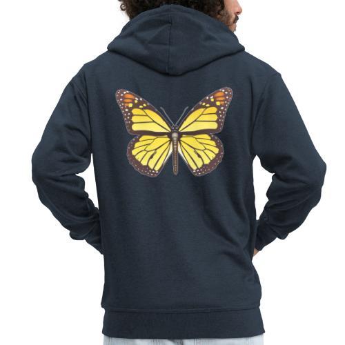 190520 monarch butterfly lajarindream - Chaqueta con capucha premium hombre