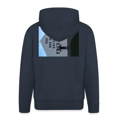 free derry - Men's Premium Hooded Jacket