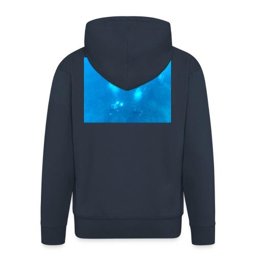 Taucher unter Wasser - Männer Premium Kapuzenjacke