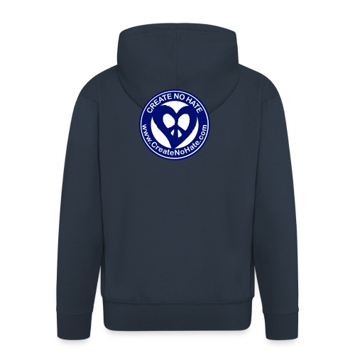 THIS IS THE BLUE CNH LOGO - Men's Premium Hooded Jacket