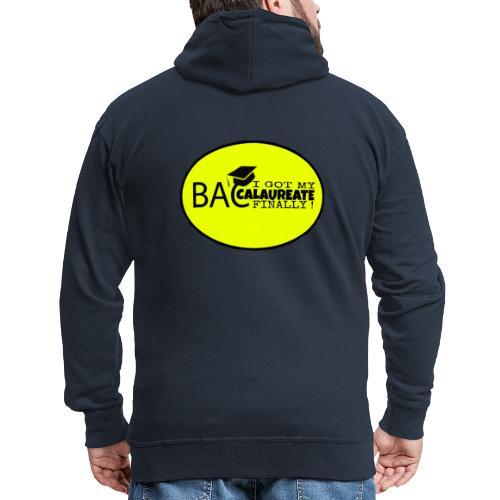 Baccalaureate Design - Veste à capuche Premium Homme