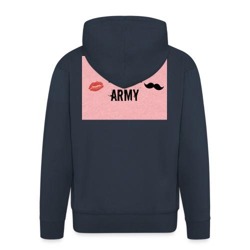 W/A/E ARMY - Miesten premium vetoketjullinen huppari