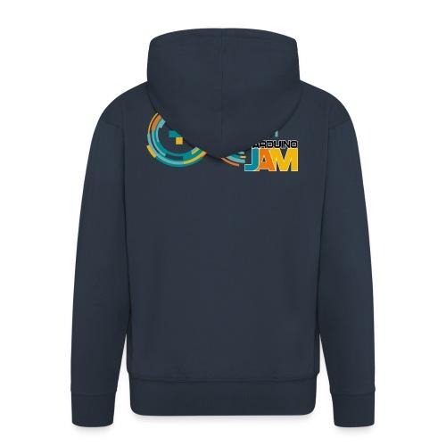 T-shirt Arduino-Jam logo - Men's Premium Hooded Jacket