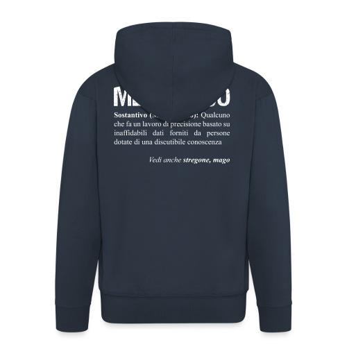 Meccanico = Mago? - Felpa con zip Premium da uomo